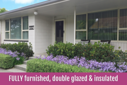 Furnished, double glazed & insulated | $595 weekly