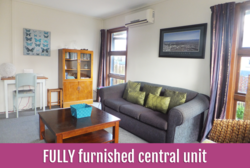 Furnished Central Unit| $435 weekly